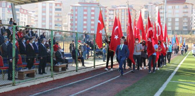 29 Ekim Cumhuriyet Bayramı Afşin'de Coşkuyla Kutlandı.