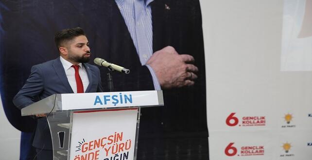 Ak Parti, Afşin'de Yeni Gençlik Kolları Başkanını Seçti.