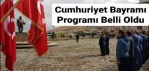 Afşin'de Cumhuriyet Bayramı Programı Belli Oldu!