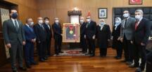 Ulaştırma ve Altyapı BakanıAdil Karaismailoğlu, Kahramanmaraş'ta.