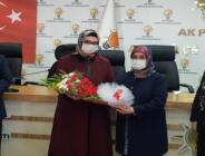 AK Parti Kadın Kolları Devir Teslim Töreni Yaptı!