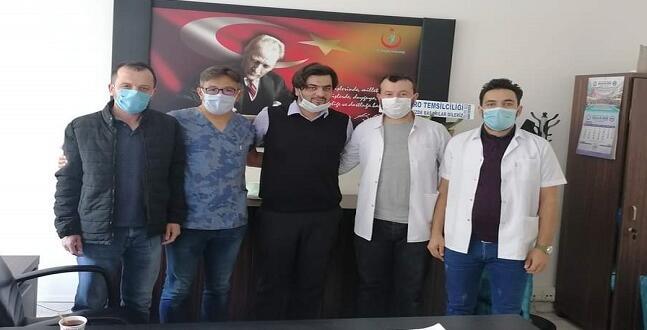 Türk Sağlık-Sen Afşin Yönetiminde Görev Değişikliği!