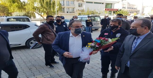 Covid'i Yenen Başkan Güven Görevine Döndü.