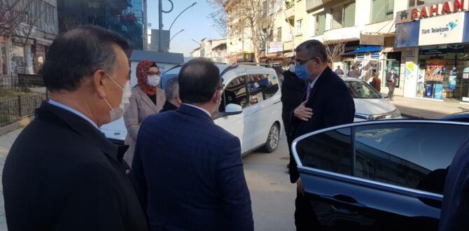 AK Parti Vekilleri Afşin'deydi!