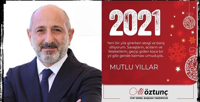 CHP Genel Başkan Yardımcısı Ali Öztunç Yeni Yılı Kutladı!