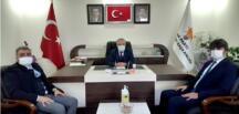 Afşin İlçe Milli Eğitim Müdürü Fatih Kaba'dan AK Parti'ye Ziyaret!
