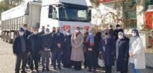 Afşin'den Suriye'ye 1 TIR'lık Un Yardımı!