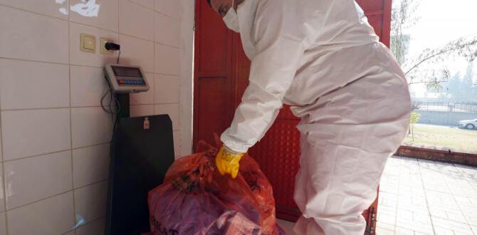 Bin 300 Ton Tıbbi Atık Bertaraf Edildi