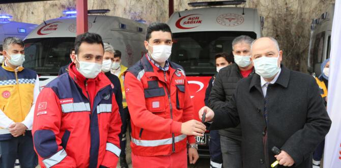 Sağlık Bakanlığından 10 Yeni Ambulans!