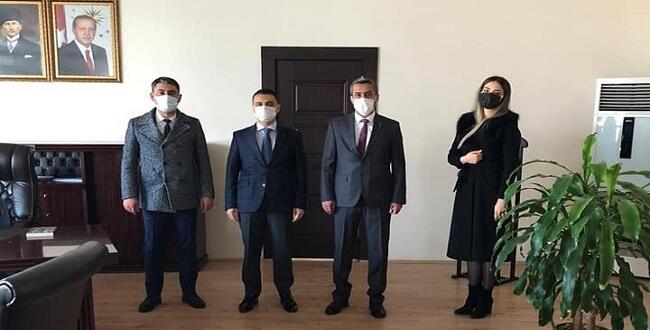 TEMA Vakfın'dan Afşin Kaymakamı'na Ziyaret!