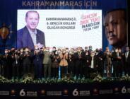 AK Parti Gençlik ve Kadın Kolları Kongresi Yapıldı.