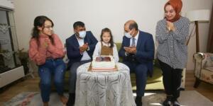 Kahramanmaraş'ta Şehit Kızına İl Emniyet Müdüründen Doğum Günü Sürprizi