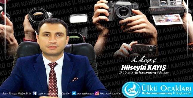 Ülkü Ocakları Başkanı Hüseyin Kayış Gazeteciler Gününü Kutladı!