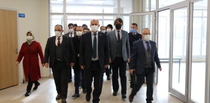 Milletvekili İmran Kılıç Afşin'i Ziyaret Etti.