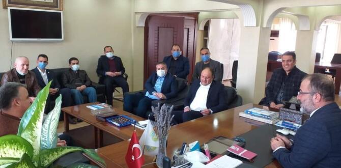 Kahramanmaraş Sağlık-Sen İl Başkanından Afşin'e Ziyaret