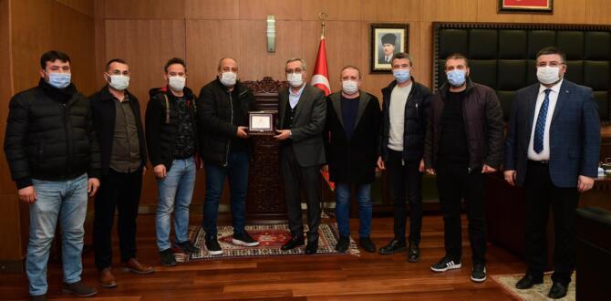Kahramanmaraşspor'dan Başkan Güngör'e Destek Teşekkürü!