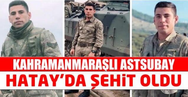 Kalp Krizi Geçiren Kahramanmaraşlı Asker Şehit Oldu