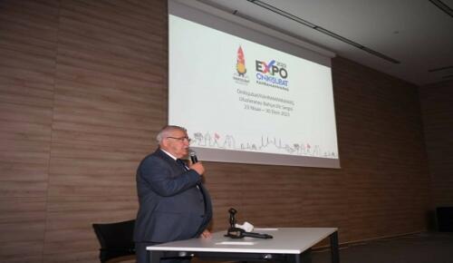 Başkan Mahçiçek EXPO2023'ü Tanıttı!