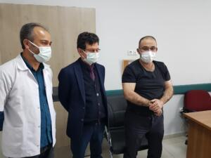 IMG 20210226 WA0035 300x225 Afşin Belediye Başkanı Güven, Koronavirüs Aşısı Yaptırdı