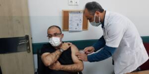 Afşin Belediye Başkanı Güven, Koronavirüs Aşısı Yaptırdı