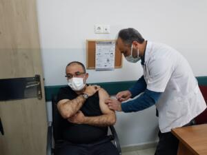 IMG 20210226 WA0036 300x225 Afşin Belediye Başkanı Güven, Koronavirüs Aşısı Yaptırdı