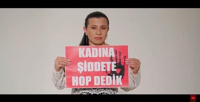 Maraşlı Naz Özcan'dan Kadını Öldüren Sevgiye Hop Dedik!