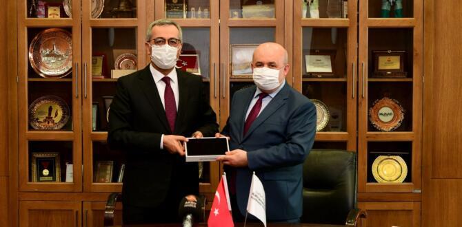 Kahramanmaraş Büyükşehir'den Bin Adet Tablet!