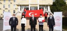 Bayrağımız Çanakkale'ye Uğurlandı.