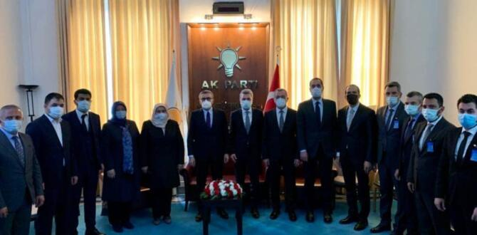 AK Parti Teşkilatından Mahir Ünal'a Hayırlı Olsun Ziyareti!