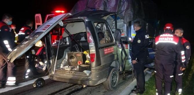 Afşin'li Hemşehrimiz Trafik Kazasında Hayatını Kaybetti!