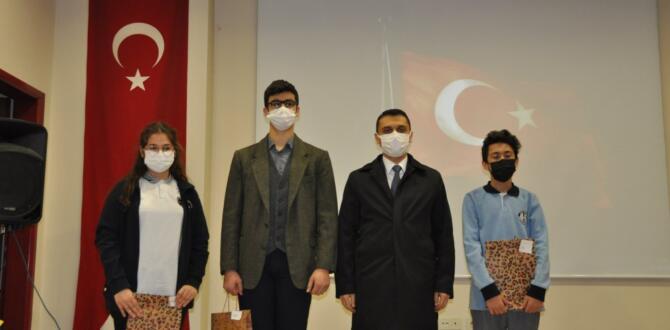 Afşin'de, İstiklal Marşı'nın Kabulü ve Mehmet Akif Ersoy'u Anma Günü Düzenlendi