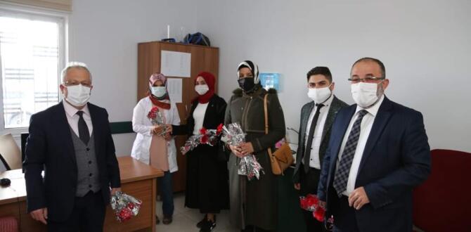 Afşin'de 8 Mart Dünya Kadınlar Günü Kutlandı!