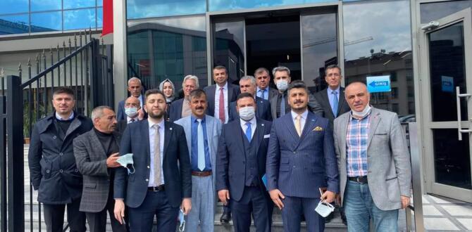 İYİ Parti Kahramanmaraş, Genel Merkeze Çıkarma Yaptı