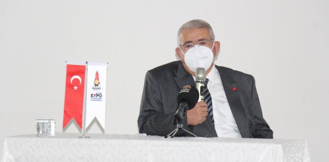 Mahçiçek, EXPO 2023'ü Afşin'de Tanıttı.