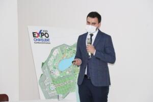 IMG 0324 300x200 Mahçiçek, EXPO 2023ü Afşinde Tanıttı.