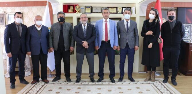 TEMA Vakfı Sorumlusu ve Temsilcileri Başkan Güven'i Ziyaret Etti
