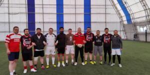 Afşin'de Uzun Zaman Sonra İlk Maç Yapıldı