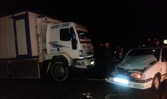 Afşin'de Trafik Kazasında 2 Kişi Yaralandı!