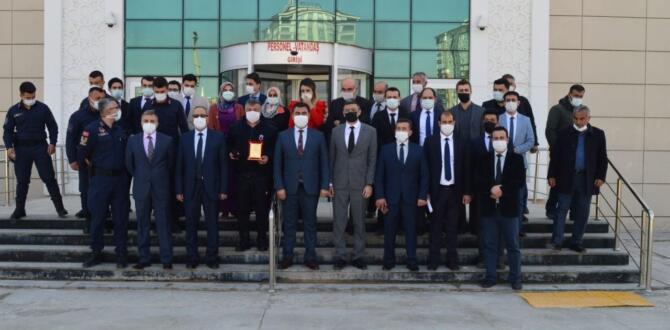 Elbistan'da,Hakim ve Savcılardan Kan Bağışı