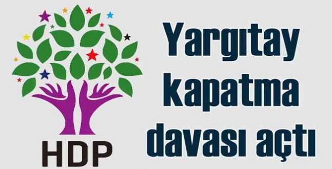 Beklenen Oldu; HDP'ye Kapatma Davası!