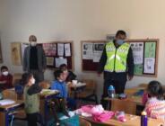 Jandarma Ekipleri, Öğrencilere Trafik Semineri Verdi