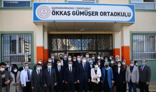 Milli Eğitim Bakanı Selçuk, Kahramanmaraş'ta Toplu Açılış Törenine Katıldı