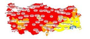 risk haritasi 300x131 Cumhurbaşkanı Erdoğandan Önemli Açıklamalar!