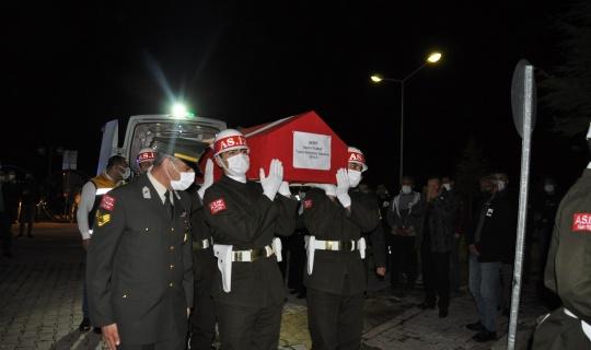 Şehit Astsubay Kıdemli Başçavuş Nazmi Yılmaz'ın Naaşı Afşin'e Getirildi