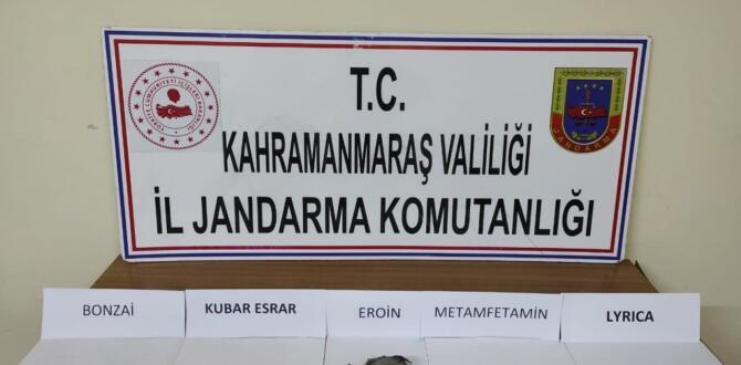 Elbistan ve Pazarcık'ta, Uyuşturucu Operasyonunda 17 Kişi Yakalandı