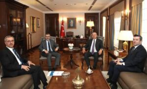 %name UNESCO Süreci Bakan Çavuşoğlu'na Anlatıldı