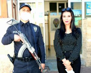 20210410 125039 300x239 İlçe Emniyet Müdürü Metin Cengiz'e, Polis Haftası Ziyareti!