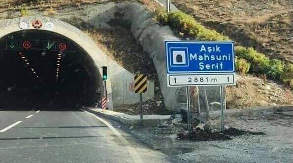 Aşık Mahzuni Şerif Tüneli, Duble Yol Olacak!