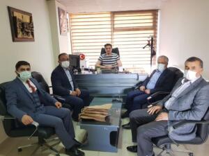 FB IMG 1618048051145 300x225 İlçe Emniyet Müdürü Metin Cengiz'e, Polis Haftası Ziyareti!