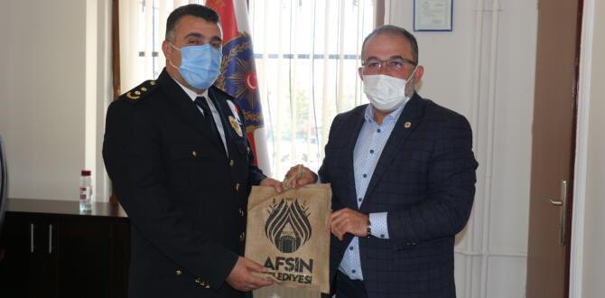 İlçe Emniyet Müdürü Metin Cengiz'e, Polis Haftası Ziyareti!